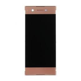 LCD Display + Dotyková Deska + Přední Kryt Rose Sony G3121 Xperia XA1 (Service Pack)