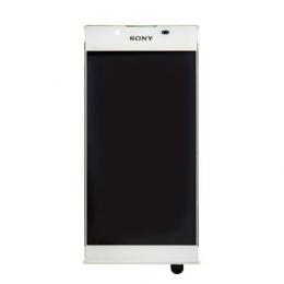 LCD Display + Dotyková Deska + Přední Kryt White Sony G3311 Xperia L1 (Service Pack)