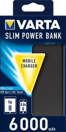 VARTA Power Bank Dual Type C SLIM 6000mAh (EU Blister)