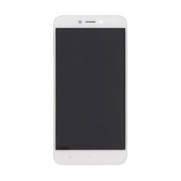 LCD Display + Dotyková Deska + Přední Kryt pro Xiaomi Redmi 4X White