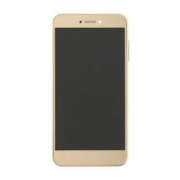 Huawei  P8/P9 Lite 2017 LCD Display + Dotyková Deska + Přední Kryt Gold