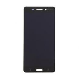 Nokia 6 Dotyková Deska + LCD Display Black