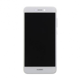 Huawei  P8/P9 Lite 2017 LCD Display + Dotyková Deska + Přední Kryt White