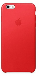 MKXG2BZ/A Apple Leather Cover Red pro iPhone 6/6S Plus (EU Blister)