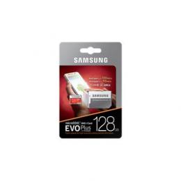 microSDXC 128GB EVO Plus Samsung Class 10 vč. Adapteru (EU Blister)