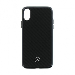 MEHCPXRCABK Mercedes Hard Case Dynamic Carbon Black pro iPhone X