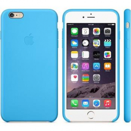 MGRH2ZM/A Apple Silicone Cover Blue pro iPhone 6/6S Plus (EU Blister)