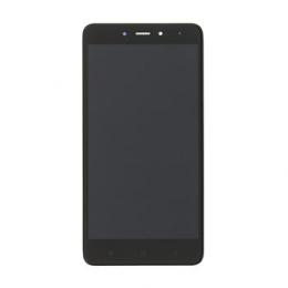 LCD Display + Dotyková Deska + Přední Kryt pro Xiaomi Redmi Note 4 Black