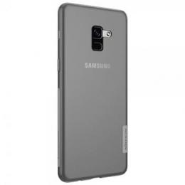 Nillkin Nature TPU Pouzdro Grey pro Samsung A730 Galaxy A8 Plus