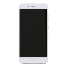Huawei P10 Lite LCD Display + Dotyková Deska+ Přední Kryt White