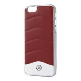 MEHCPSECUSRE Mercedes Hard Case Wave III Aluminium Red pro iPhone 5/5S/SE