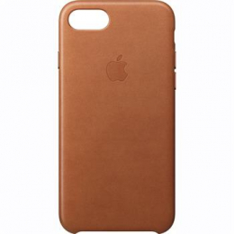 MMY22ZM/A Apple Leather Cover Saddle Brown pro iPhone 7/8 (EU Blister)