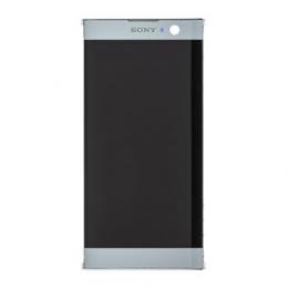 LCD Display + Dotyková Deska + Přední Kryt Silver Sony H4113 Xperia XA2 (Service Pack)