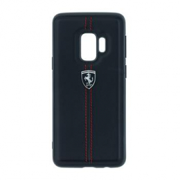 FEHDEHCS9BK Ferrari Heritage Hard Case Black pro Samsung G960 Galaxy S9