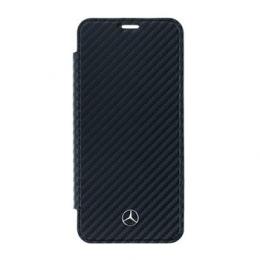 MEFLBKS9LCFBK Mercedes Book Case Dynamic Black pro Samsung G965 Galaxy S9 Plus