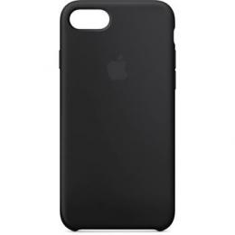 MQGK2ZM/A Apple Silikonový Kryt Black pro iPhone 7/8 (EU Blister)