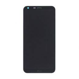 LG M700n Q6 LCD Display + Dotyková Deska + Přední Kryt Black