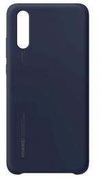 Huawei Original Silikonové Pouzdro Blue pro Huawei P20 (EU Blister)