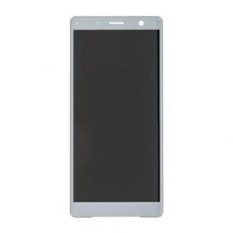 LCD Display + Dotyková Deska Silver Sony H8324 Xperia XZ2 Compact (Service Pack)