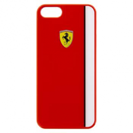 FELIHCPSERE Ferrari Scuderia Hard Case Red White pro iPhone 5/5S/SE