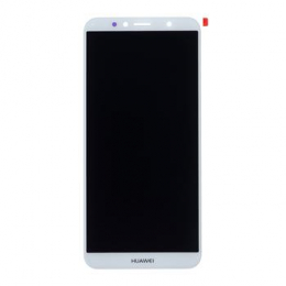 Huawei  Y6 Prime 2018 LCD Display + Dotyková Deska White