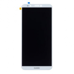 Huawei  Y7 Prime 2018 LCD Display + Dotyková Deska White