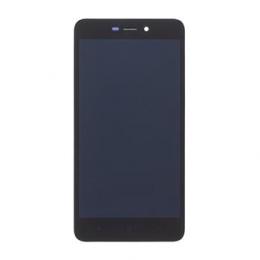 LCD Display + Dotyková Deska + Přední Kryt pro Xiaomi Redmi 4A Black (Service Pack)