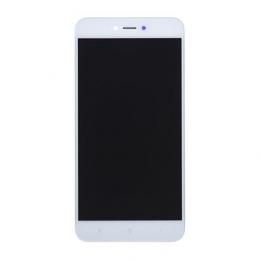 LCD Display + Dotyková Deska + Přední Kryt pro Xiaomi Redmi Note 5A White (Service Pack)