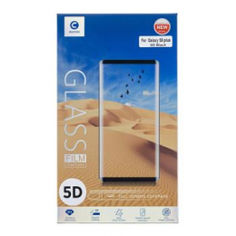 Mocolo 5D Tvrzené Sklo Black pro Samsung A530 Galaxy A8 2018