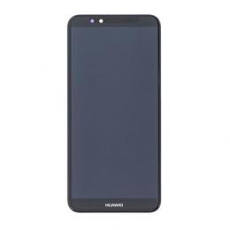 Huawei Y6/Y6 Prime 2018 LCD Display + Dotyková Deska Black (Service Pack)