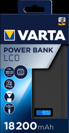 VARTA Power Bank LCD Dual USB 18200mAh (EU Blister)