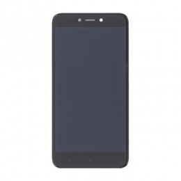 LCD Display + Dotyková Deska + Přední Kryt pro Xiaomi Redmi 4X Black (Service Pack)