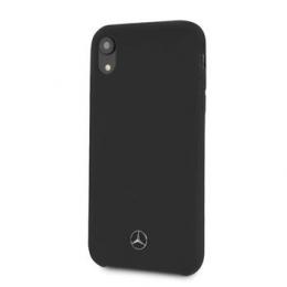 MEHCPI61SILBK Mercedes Silicon/Fiber Case Lining Black pro iPhone 6.1