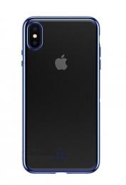 USAMS Kingdom TPU Zadní Kryt Blue pro iPhone 6.5