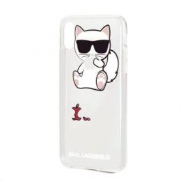 KLHCPXCFA Karl Lagerfeld Fun Eaten Apple No Rope Hard Case pro iPhone X