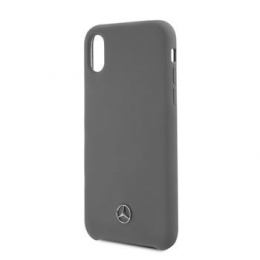 MEHCPXSILGR Mercedes Silicon Case Lining Grey pro iPhone X