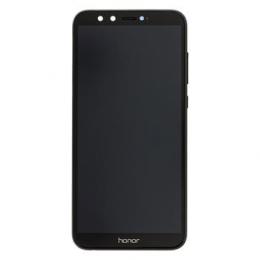 Honor 9 Lite LCD Display + Dotyková Deska + Přední Kryt Black