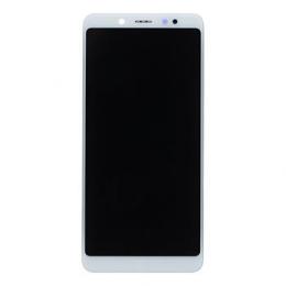 LCD Display + Dotyková Deska + Přední Kryt pro Xiaomi Redmi Note 5 White (Service Pack)