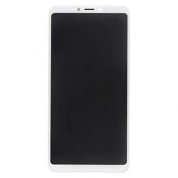 LCD Display + Dotyková Deska + Přední Kryt pro Xiaomi Mi Max 3 White