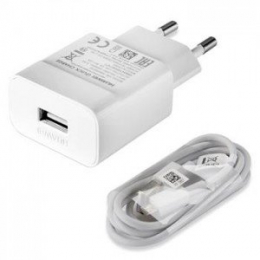 Huawei Original Cestovní Dobíječ AP32 + Type C Dat. Kabel White (Bulk)
