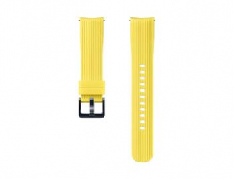 ET-YSU81MYE Samsung Watch Silikonový Řemínek 20mm Yellow (EU Blister)