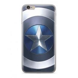 MARVEL Captain America 005 Zadní Kryt Blue pro Huawei Y6 Prime 2018