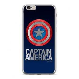 MARVEL Captain America 001 Zadní Kryt pro Huawei P20 Lite Silver