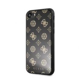 GUHCI8TGGPBK Guess Layer Glitter Peony Pouzdro pro iPhone 7/8 Black