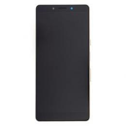 LCD Display + Dotyková Deska + Přední Kryt Sony I4312 Xperia L3 Black/Gold (Service Pack)