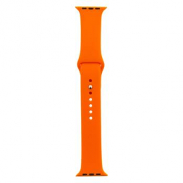 Handodo Silikonový Pásek pro iWatch 4 44mm Orange (EU Blister)
