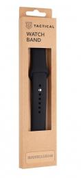 Tactical 488 Silikonový Řemínek pro Apple Watch 1/2/3/4/5/6/SE 42/44mm Black