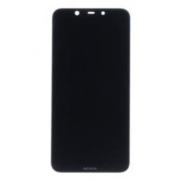 Nokia 8.1 Dotyková Deska + LCD Display Black
