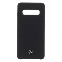 MEHCS10SILBK Mercedes Silikonový Kryt pro Samsung Galaxy S10 Black