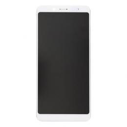 LCD Display + Dotyková Deska + Přední Kryt pro Xiaomi Redmi Note 5 White